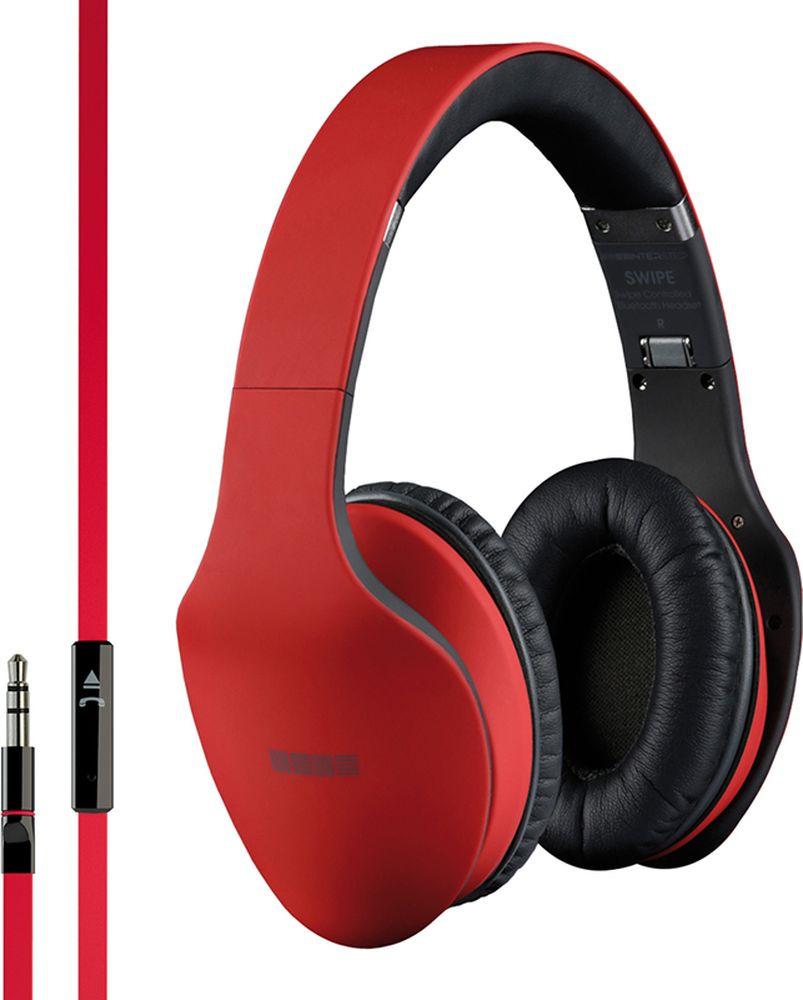 Наушники Interstep Swipe Wired HDP-200, красный двухъядерные ноутбуки