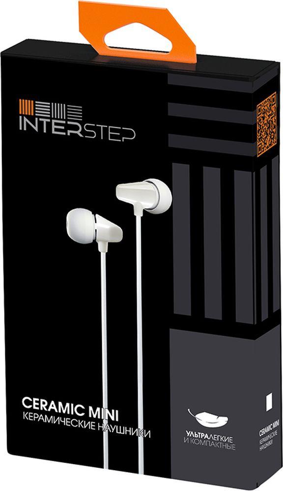 Наушники Interstep Ceramic Mini , белый цена