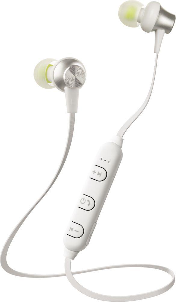 лучшая цена Наушники Interstep Sport Bluetooth SBH-230, белый