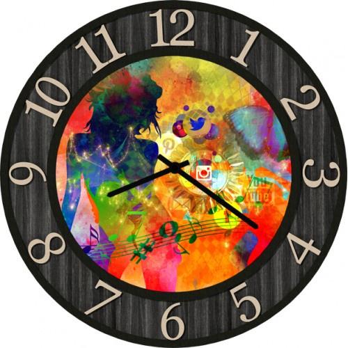 Настенные часы Kitch Art 4002195 настенные часы art time ntr 3812