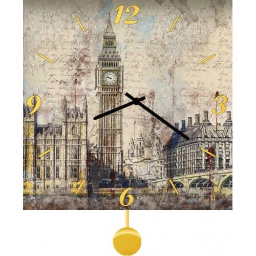 Настенные часы Kitch Clock 3512265 настенные часы kitch clock 4001049