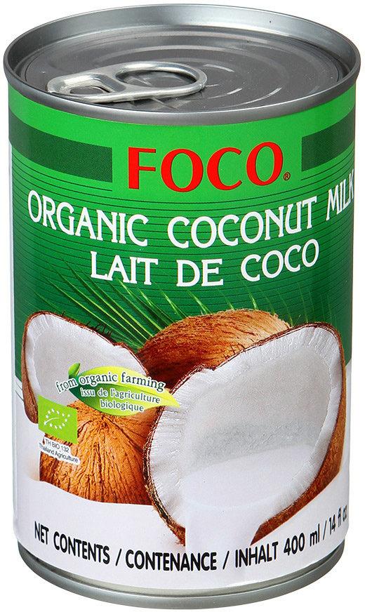 цена на Органическое кокосовое молоко Foco, 10-12%, 400 мл