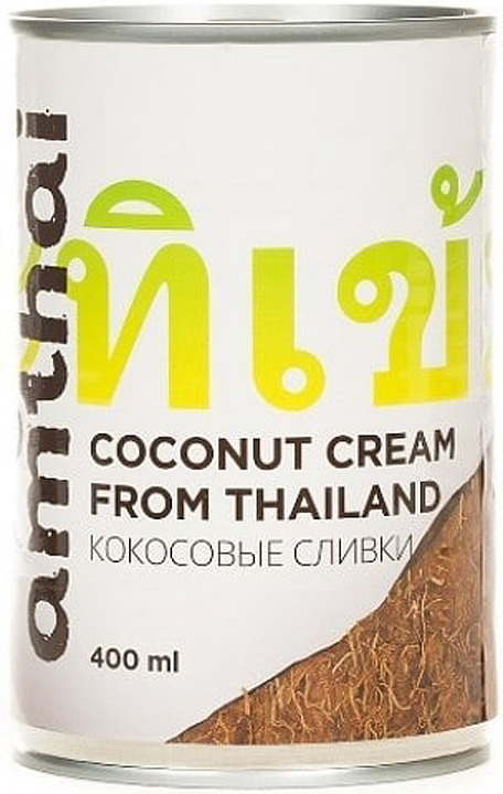 Кокосовые сливки Amthai, 400 мл заказать сливки