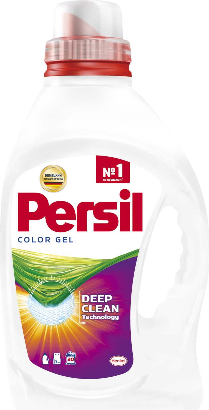 Жидкое средство для стирки Persil Color, 2459057, 1,3 л бытовая химия persil