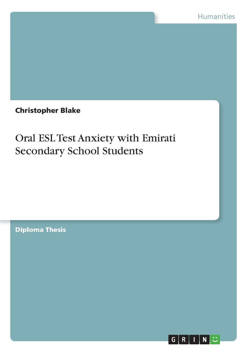 Christopher Blake Oral ESL Test Anxiety with Emirati Secondary School Students the japanese language proficiency test n2 mock test 2 тренировочные тесты jlpt n2 часть 2 cd книга на японском языке