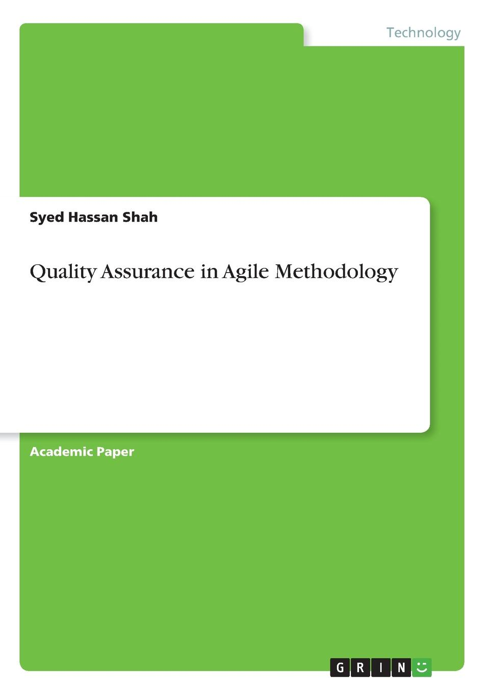 Syed Hassan Shah Quality Assurance in Agile Methodology стеллаж сп 2