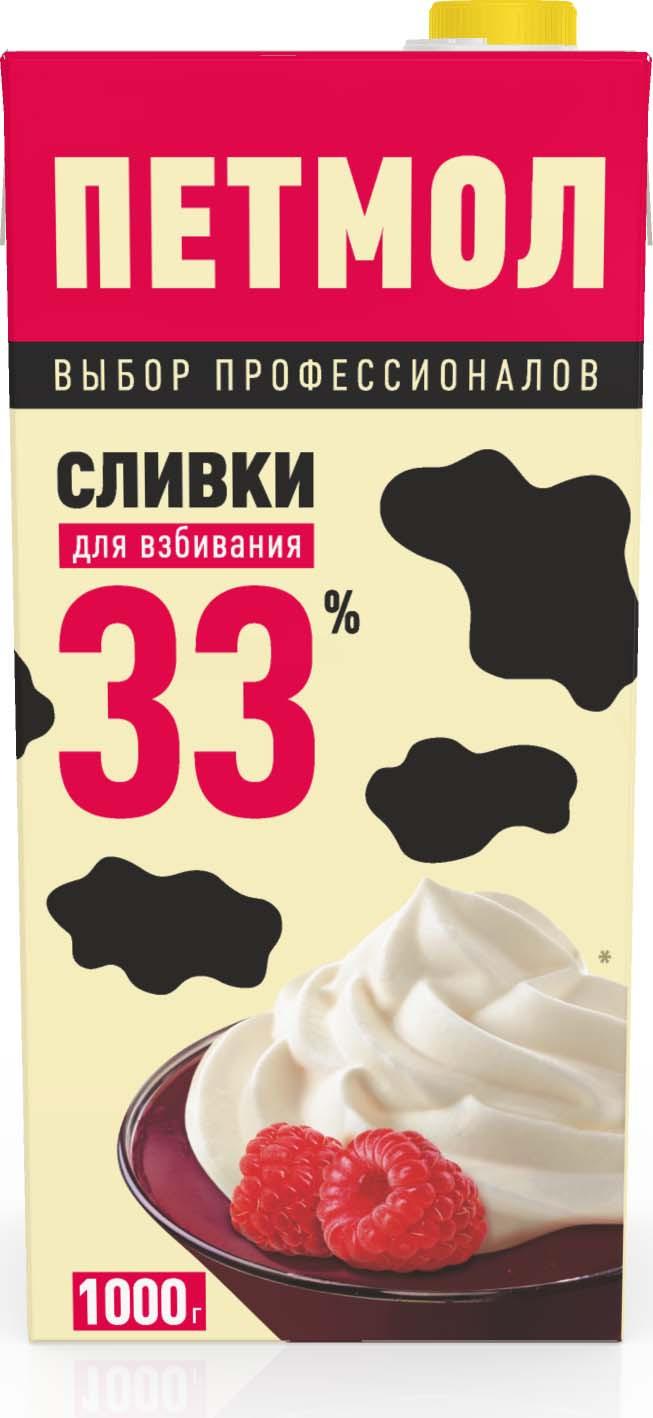 Сливки для взбивания ультрапастеризованные 33%, 1000 г заказать сливки