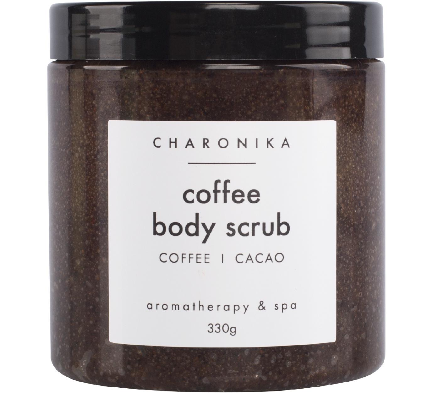 """Скраб соляной """"Coffee body scrub (coffee/cacao)"""" CHARONIKA"""