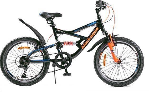 Велосипед Black Aqua Mount 1681 D Matt, красный, черный, колесо 26