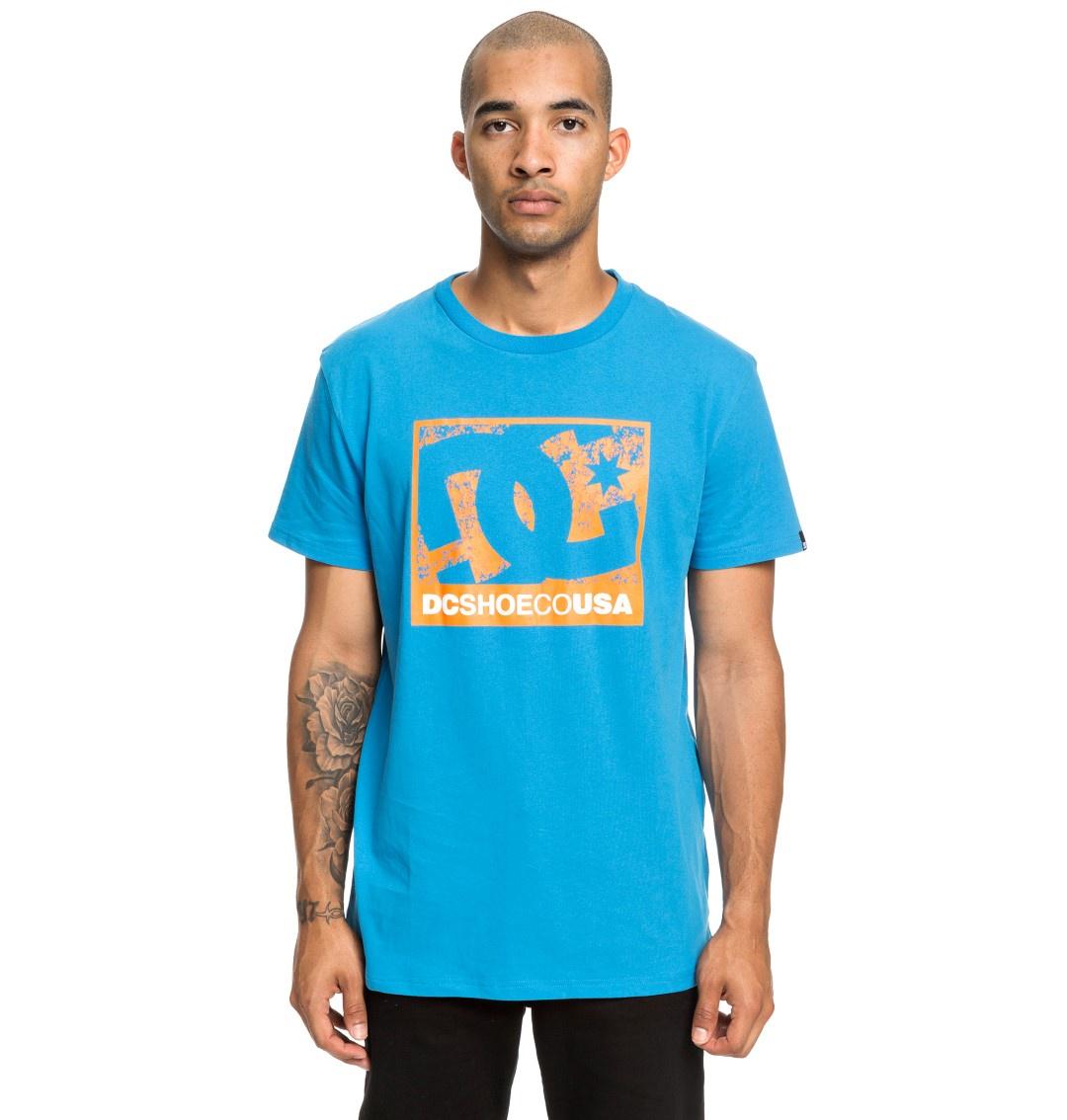 Футболка DC Shoes лонгслив мужской adidas sn run cru m цвет синий dn2485 размер xxl 60 62