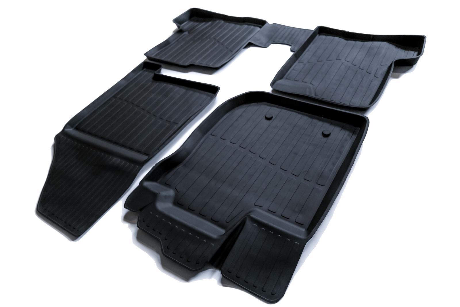 Коврики в салон автомобиля SRTK 3D STANDART, черный motormax модель автомобиля corvette 1967 цвет черный