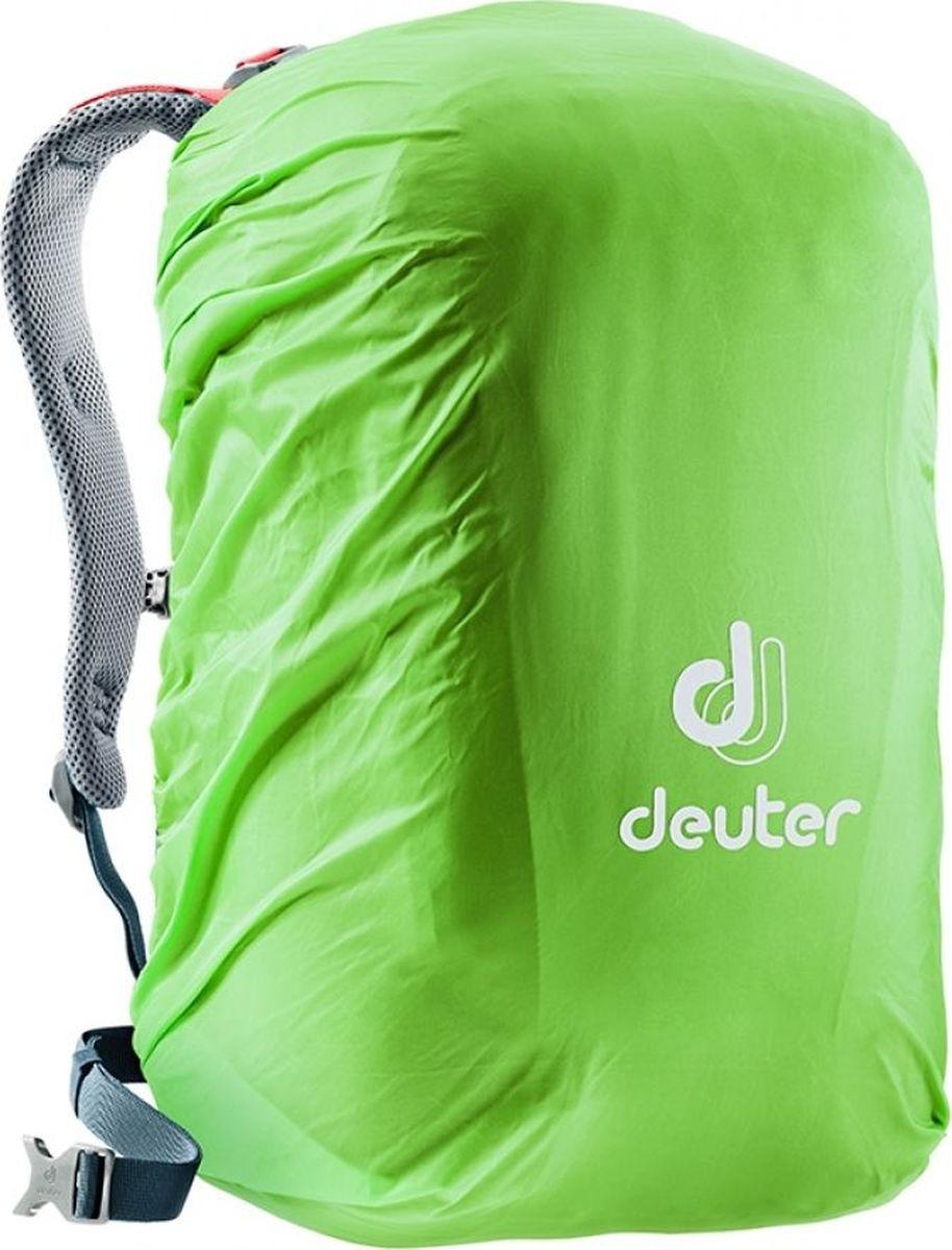 Чехол для рюкзаков Deuter Raincover School, 3890519_2004, зеленый, 46 х 29 х 26 см