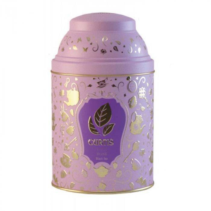 Чай листовой Curtis Wonderland Collection, Wild Rose, черный ароматизированный, цвет коробки сиреневый, 40 г цена 2017