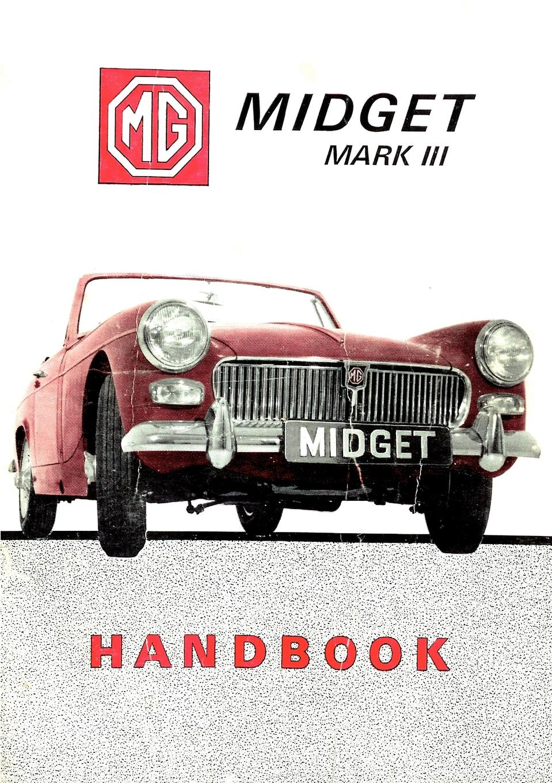 NN MG Midget MMark III Handbook the fledgling handbook