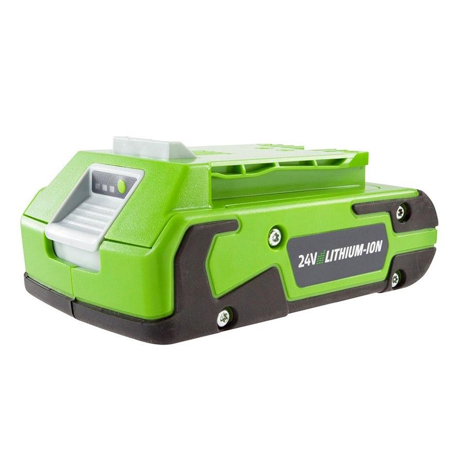 Аккумулятор для инструмента Greenworks G24B2 24V, 2 А.ч аккумулятор для инструмента greenworks g60b4 60v 4 а ч