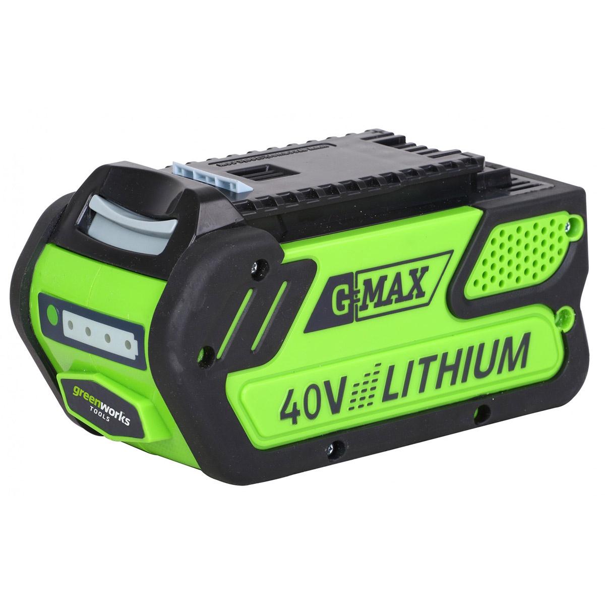 Аккумулятор для инструмента Greenworks G40B4 40V, 4 А.ч пильная цепь greenworks 40v 40 см