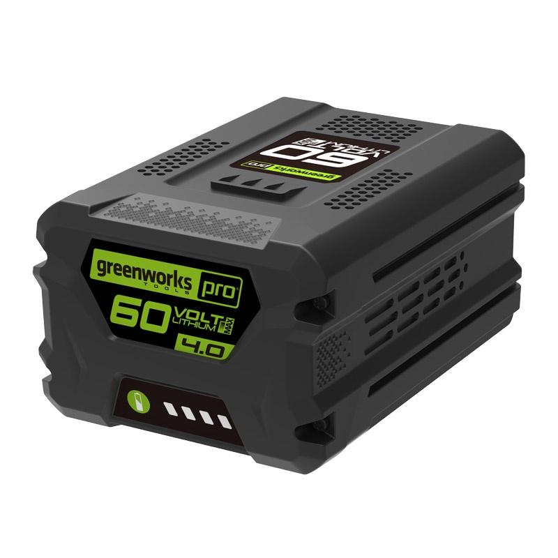 Аккумулятор для инструмента Greenworks G60B4 60V, 4 А.ч greenworks 60v g60uc 2918507