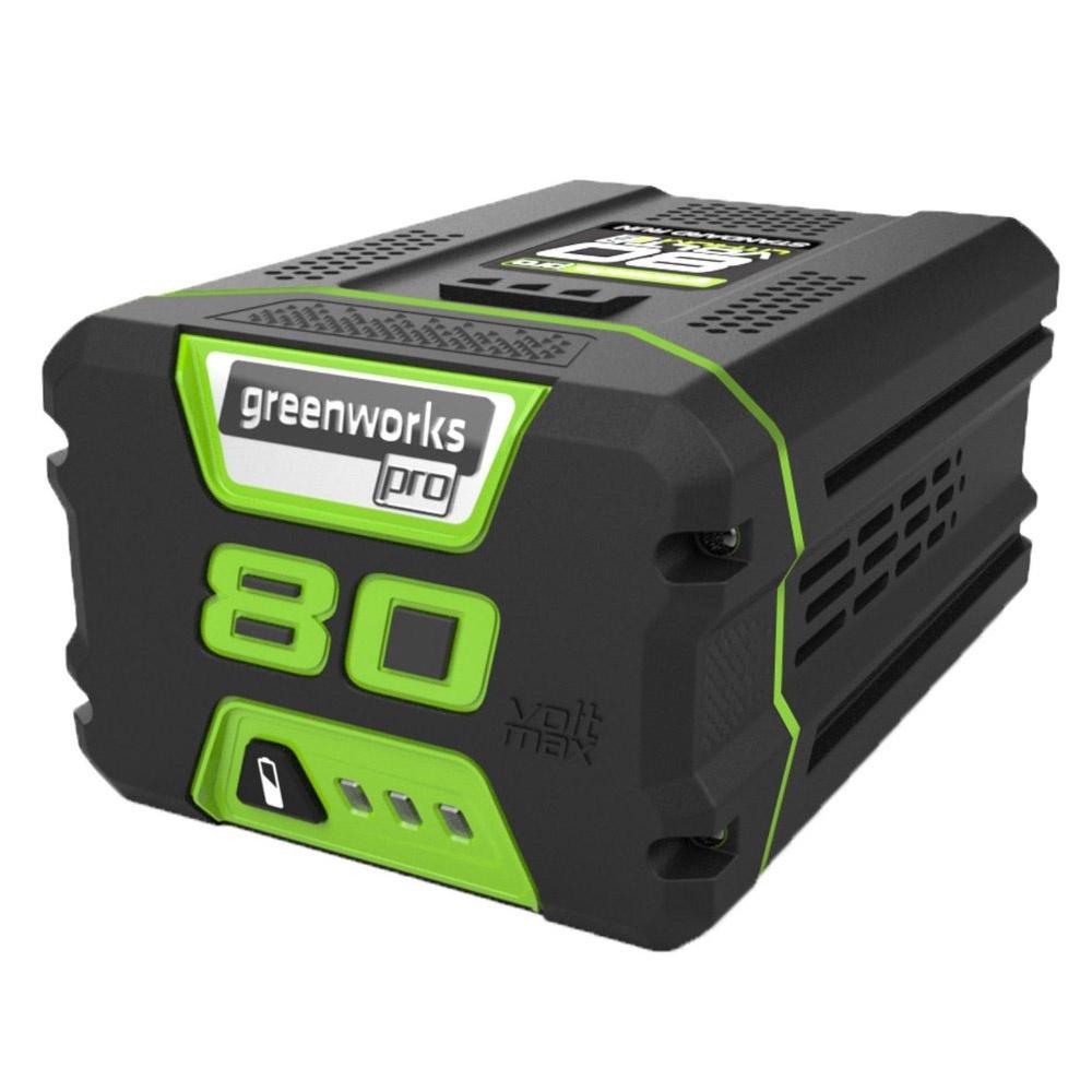 Аккумулятор для инструмента Greenworks G80B4 80V, 4 А.ч аккумулятор для инструмента greenworks g60b4 60v 4 а ч