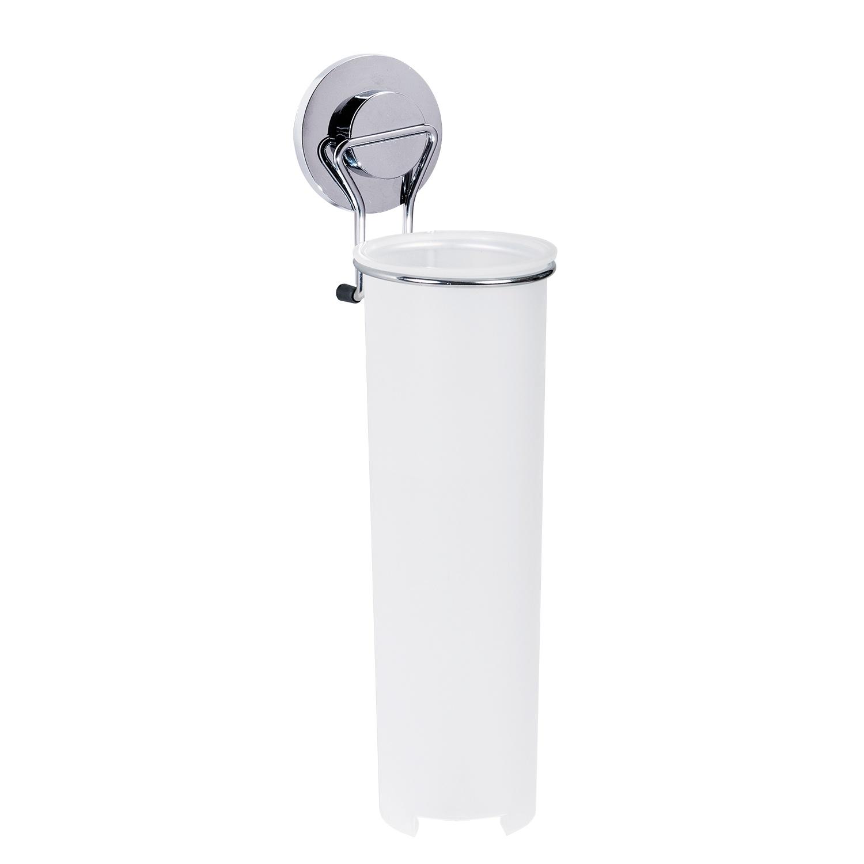Держатель интерьерный Tatkraft Для ватных дисков, серебристый держатель интерьерный s039