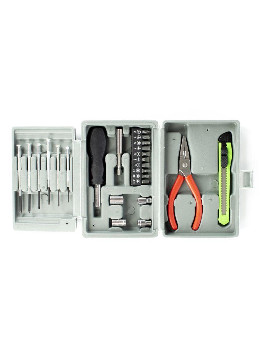 Набор инструментов Удачная покупка GJH01, серый набор инструментов калибр ан 52 серый