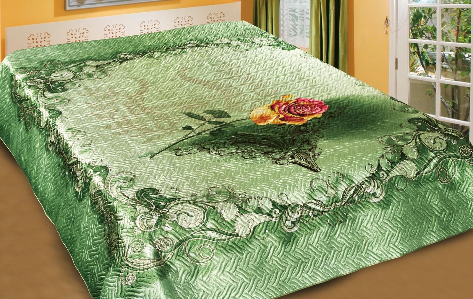 Покрывало Marianna Шёлк 3D Жизель, 200 х 220 см, разноцветный