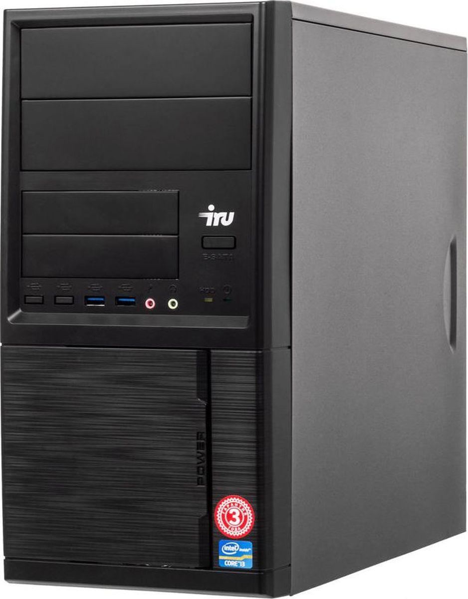 Системный блок IRU Home 313 MT, 1063312, черный системный блок iru home 313 mt 1063317 черный