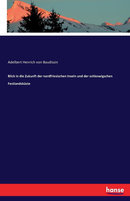 Adelbert Henrich von Baudissin Blick in die Zukunft der nordfriesischen Inseln und der schleswigschen Festlandskuste paul knuth flora der nordfriesischen inseln