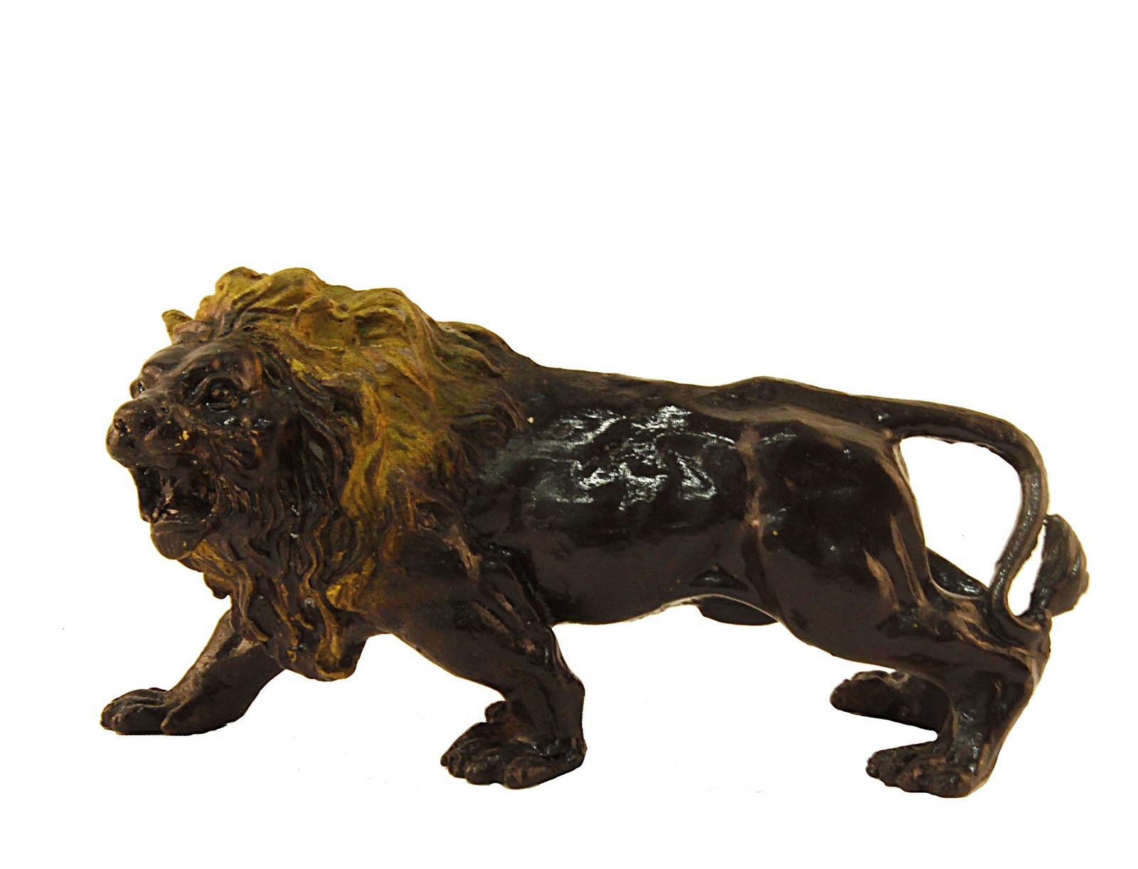 Статуэтка Антик Хобби OC36028, коричневый, золотой гиря iron head лев 16 0 кг