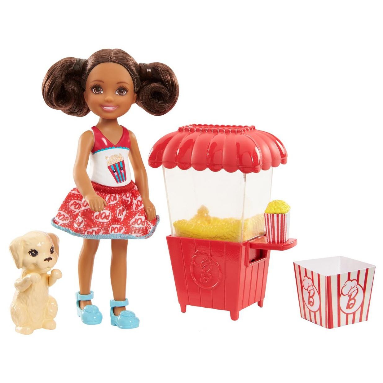 Игровой набор с куклой Barbie 135813 barbie игровой набор с мини куклой video game hero