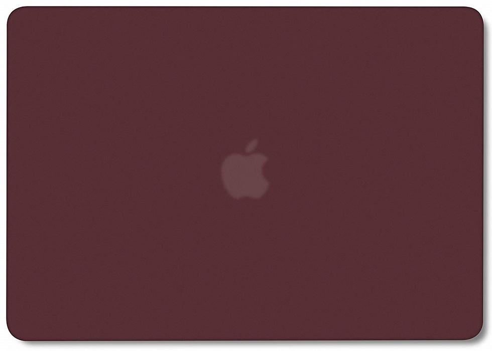 Чехол для ноутбука i-Blason для Macbook Air 13 (2018) A1932, бордовый