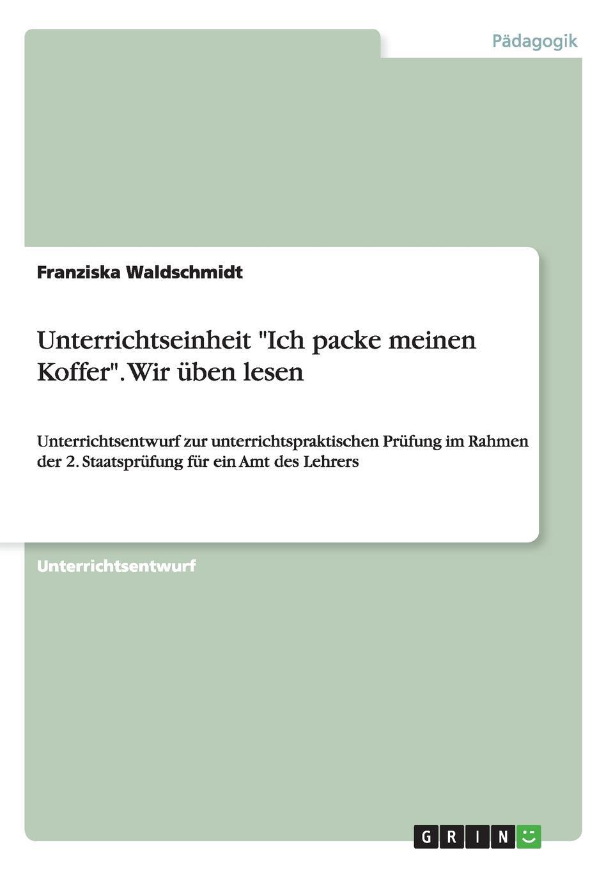 все цены на Franziska Waldschmidt Unterrichtseinheit