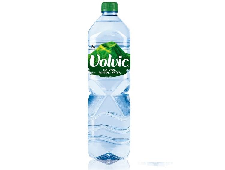 Вода питьевая столовая природная негазированная, Volvic, Франция
