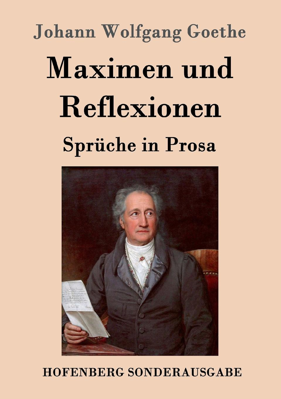 Johann Wolfgang Goethe Maximen und Reflexionen klaus ludwig hohn darstellung und deutung der bildenden kunst der antike in den romischen elegien von johann wolfgang von goethe