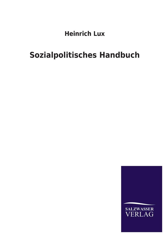 Sozialpolitisches Handbuch