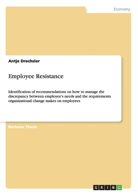 цены на Antje Drechsler Employee Resistance  в интернет-магазинах
