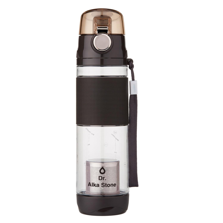 Средство для смягчения воды Dr.Alkastone Колба Аква обогатитель 600 мл, черный, 0,34