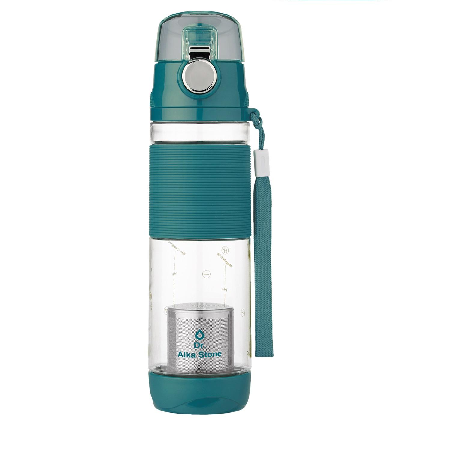 Средство для смягчения воды Dr.Alkastone Колба Аква обогатитель 600 мл, голубой, 340