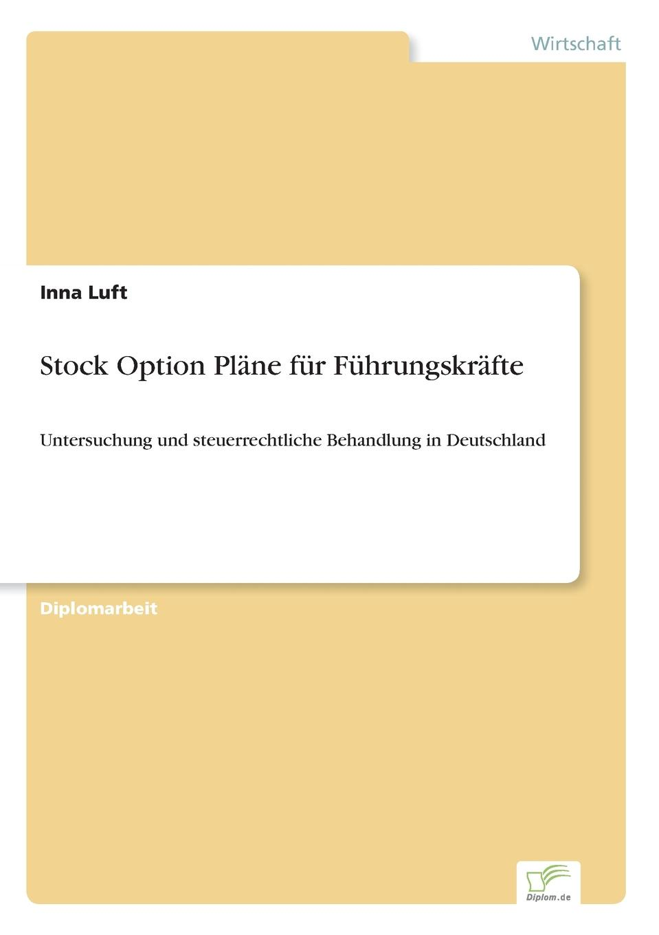 Inna Luft Stock Option Plane fur Fuhrungskrafte courtney smith option strategies profit making techniques for stock stock index and commodity options