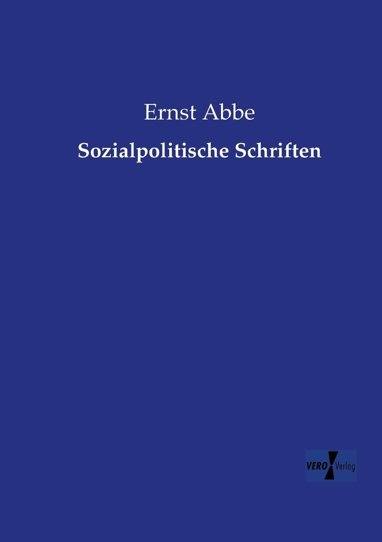 Ernst Abbe Sozialpolitische Schriften