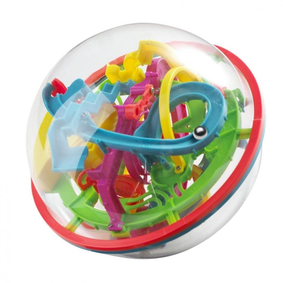 Головоломка Icoy Toys Шар Лабиринт цветной (100 ходов) разноцветный