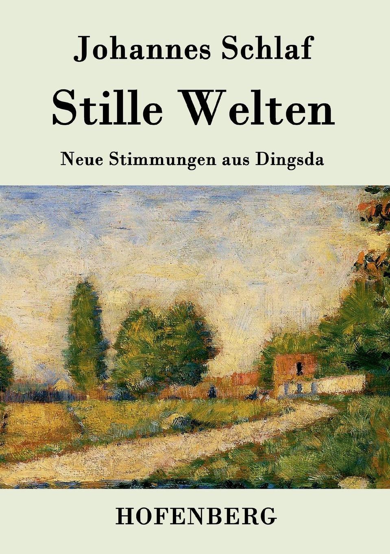 Johannes Schlaf Stille Welten цены онлайн