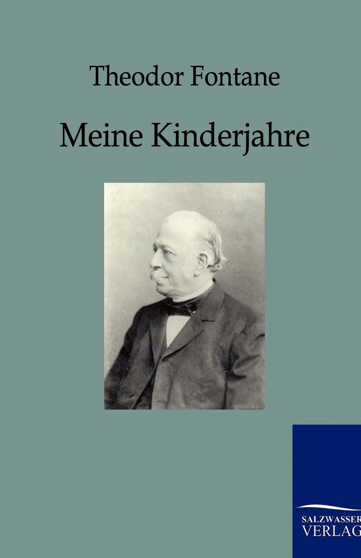 Theodor Fontane Meine Kinderjahre josef ettlinger theodor fontane biografie