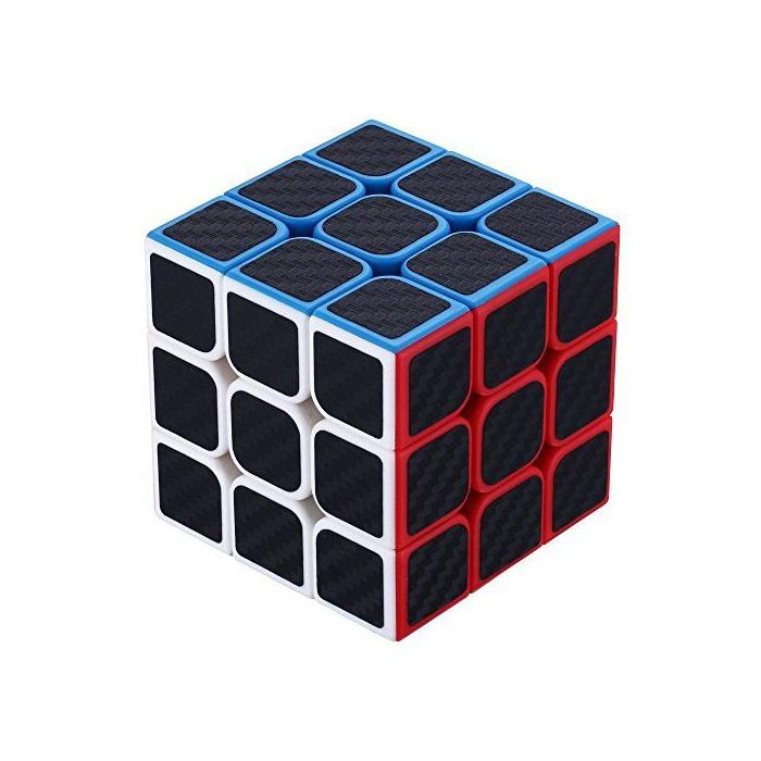 Головоломка YJ Кубик Рубика Фантом Phantom Carbon Fiber 3x3 черный 250mmx500mmx0 3mm 100% carbon fiber plate panel sheet 3k plain weave glossy