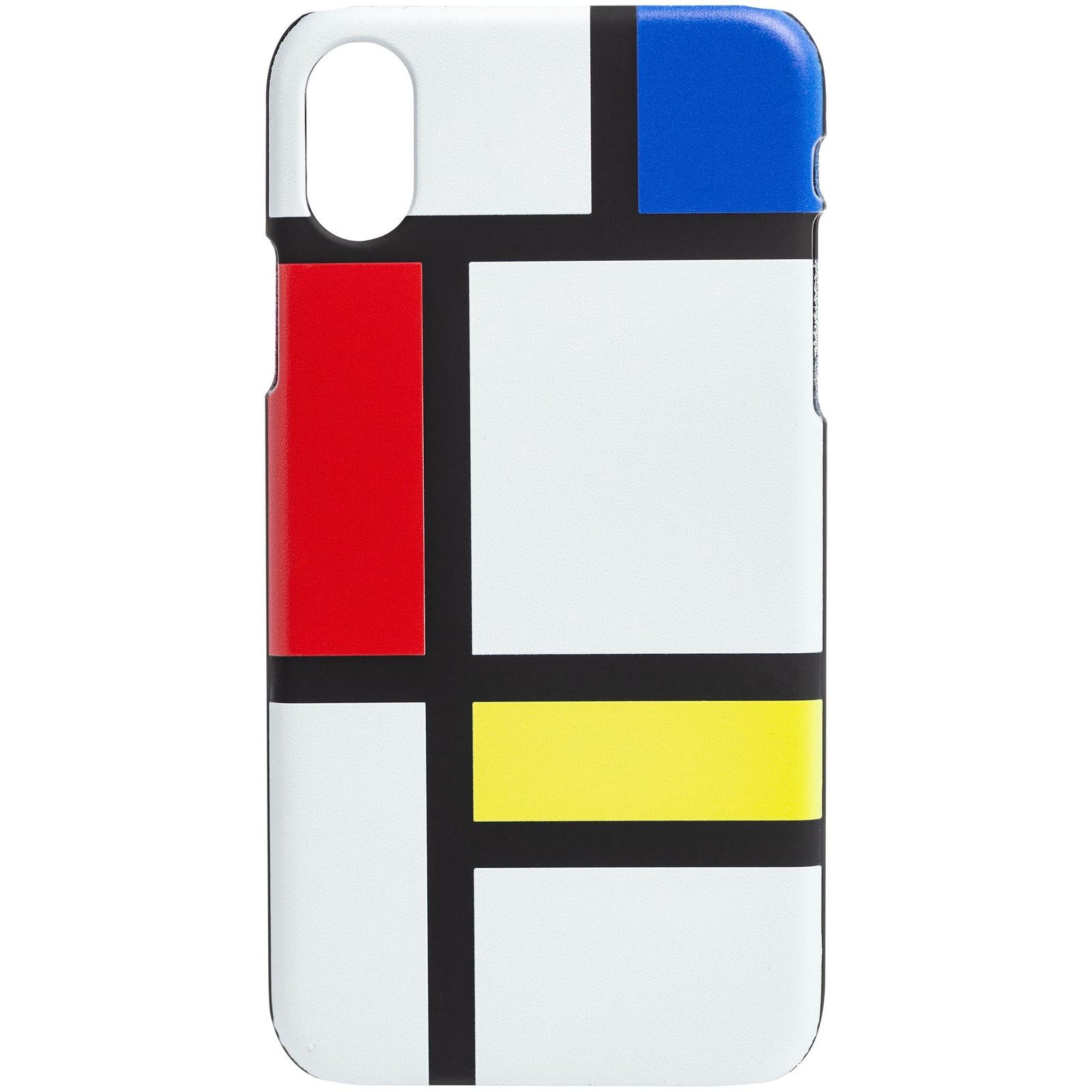 Чехол для сотового телефона Принтэссенция Neoplastica, черный, белый, синий, красный автокосметика удаление царапин с пластика