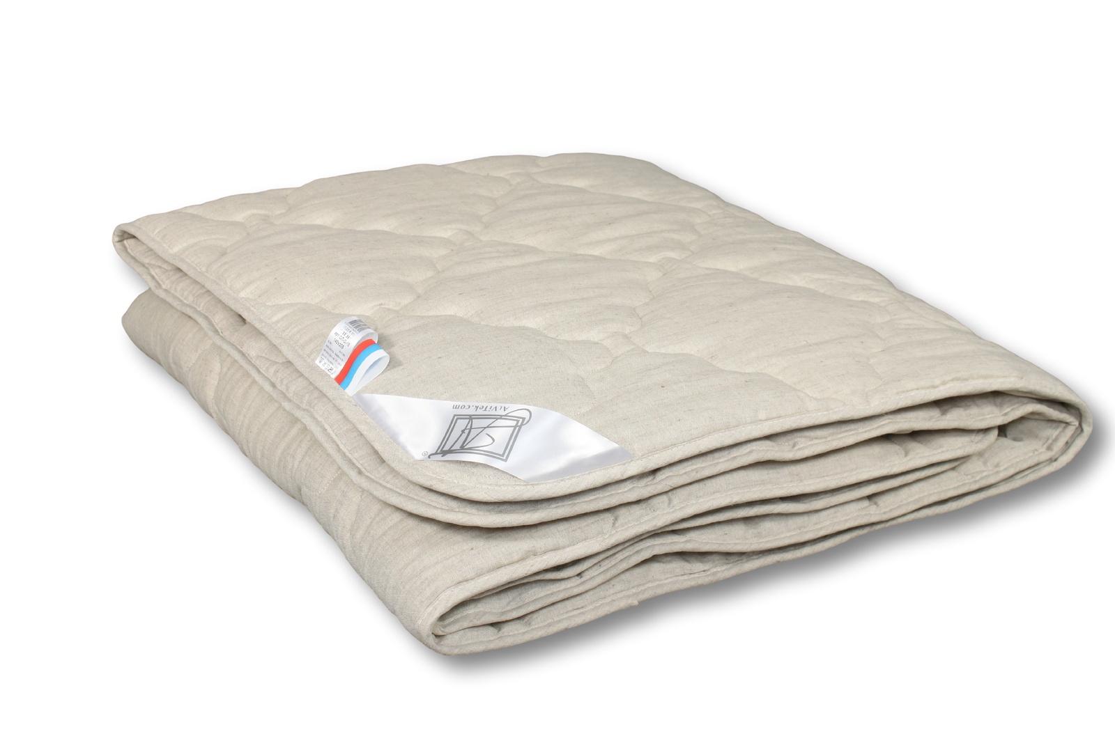 "Одеяло Альвитек ""Лён"" легкое, размер 200х220"