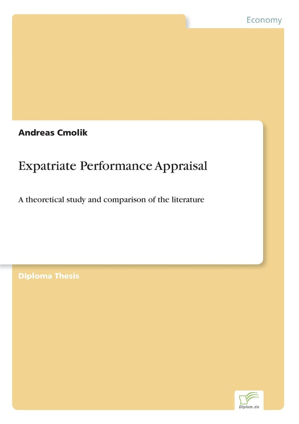 Andreas Cmolik Expatriate Performance Appraisal moseley james l handbook of improving performance in the workplace measurement and evaluation