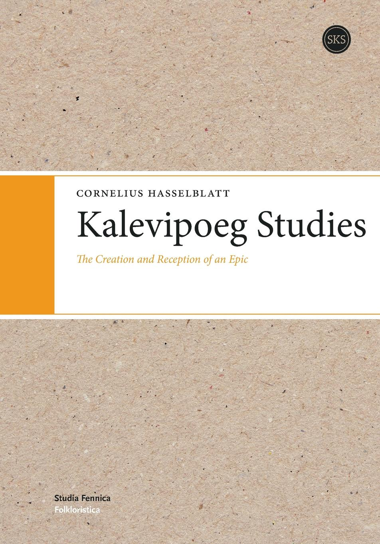 Cornelius Hasselblatt Kalevipoeg Studies комплект постельного белья ecotex 2 сп сатин жаккард эстетика белинда 4650074956534