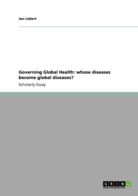 Jan Lüdert Governing Global Health. whose diseases become global diseases. mycobacterium abscessus