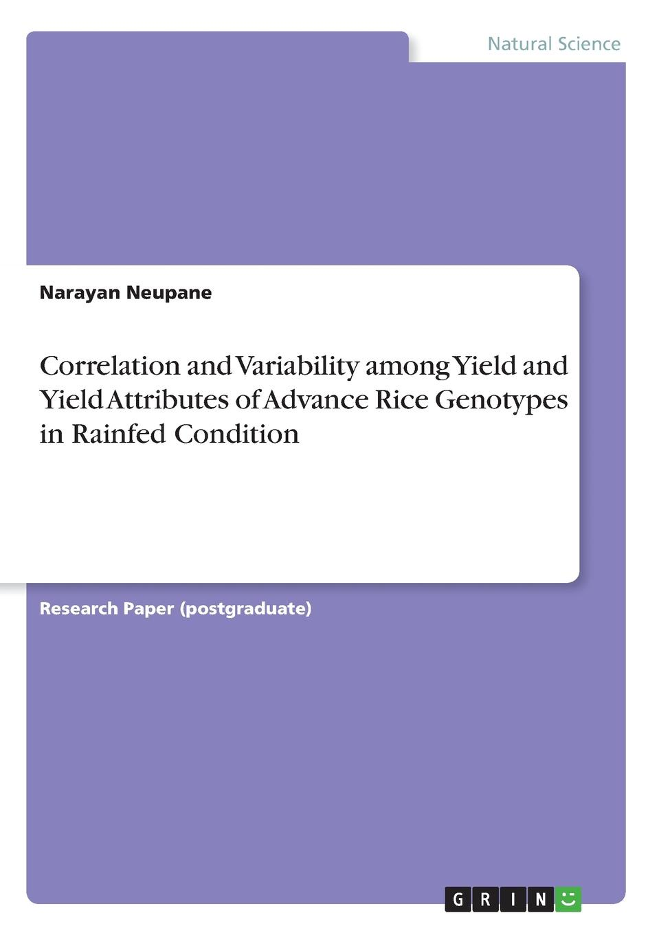 Narayan Neupane Correlation and Variability among Yield and Yield Attributes of Advance Rice Genotypes in Rainfed Condition микроволновая печь bbk 23mwg 850t b m
