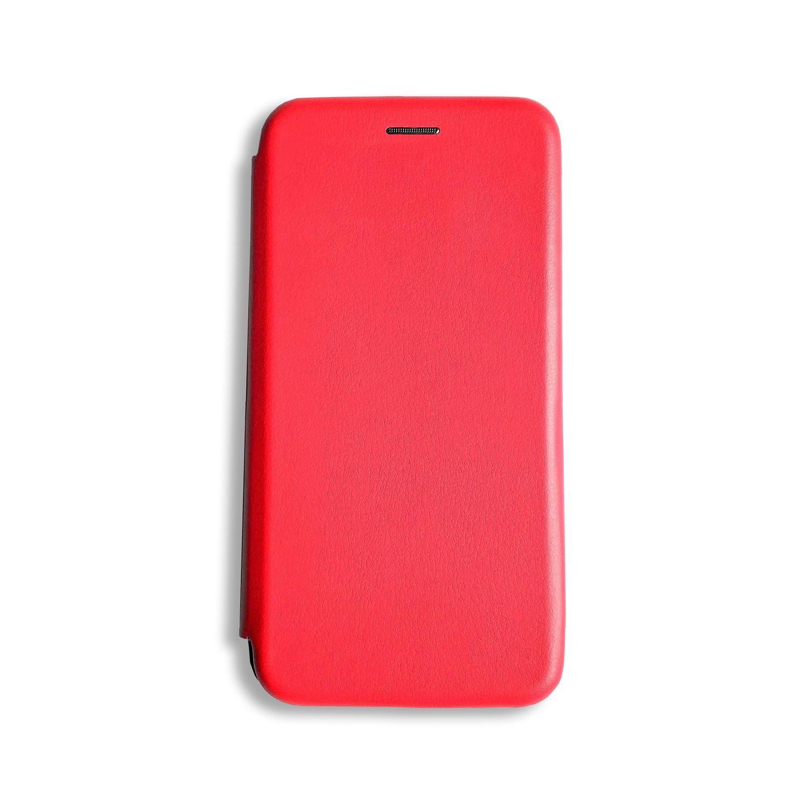 Чехол для сотового телефона книжка для Huawei Honor 8C, красный